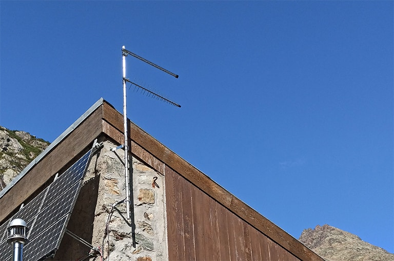 Antenne 4G montagne