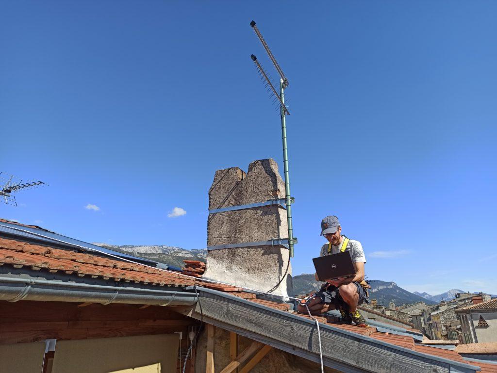 Installation 4G fixe à Die (Drôme)