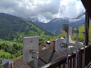 Test d'antennes en Savoie
