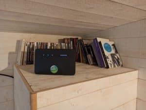 Installation 4G fixe pour un gîte